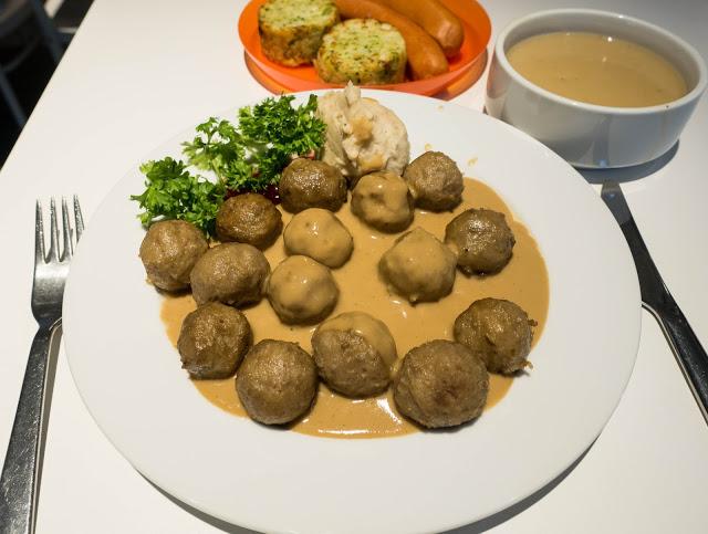 IKEA Restaurant Cheras | 牛肉丸 Beef Meatball很好吃!
