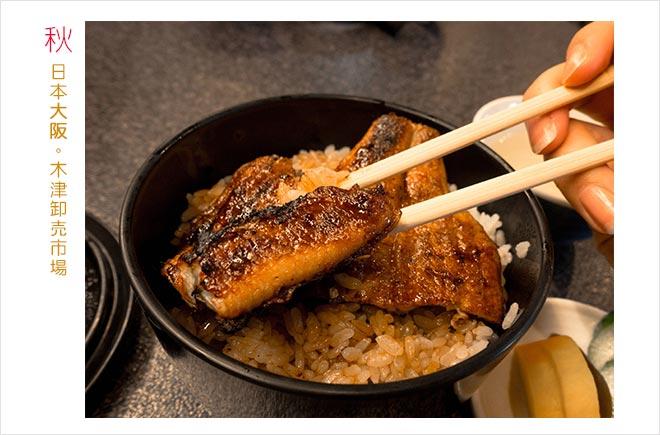日本遊記 | 大阪木津卸売市場 | 川上商店鰻魚飯 | 日本之McDonald's