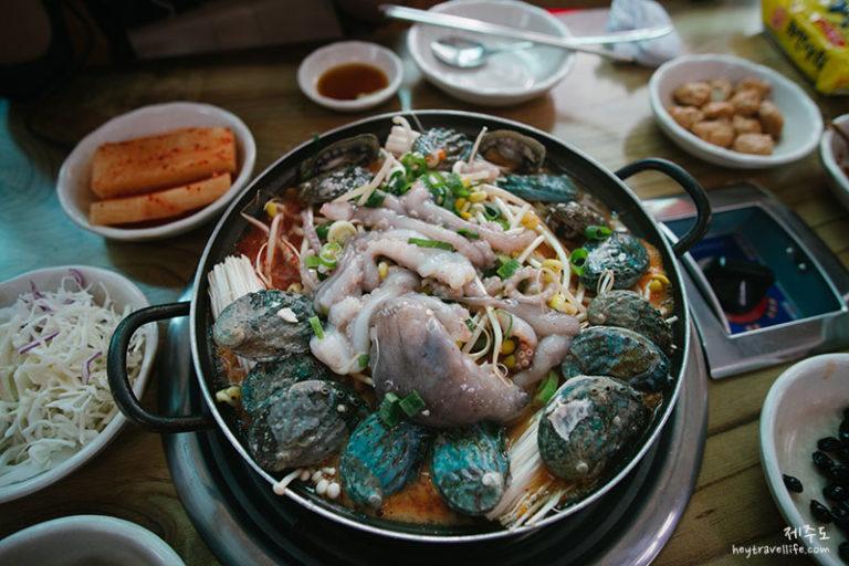 濟州遊記 2018 | 濟州自駕遊 | 西歸浦美食 | 기억나는집 記得我家 | 海鮮辣湯
